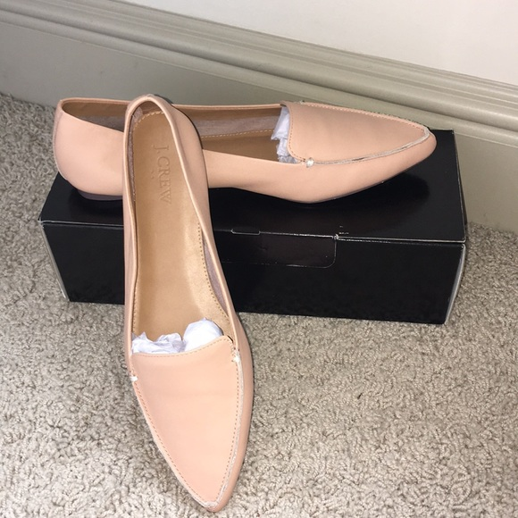 541f763f0d3 J. Crew Shoes - J.Crew Edie Loafers Warm Beige